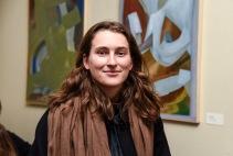 Anne Grete Berg. En av årets debutanter på Desemberutstilling 2018. Foto: Diana Lindbjerg