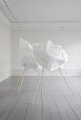 Paperdrawing #28, 2018. Marit Roland. Installasjon. 900x570x370cm Fotograf: Marit Roland