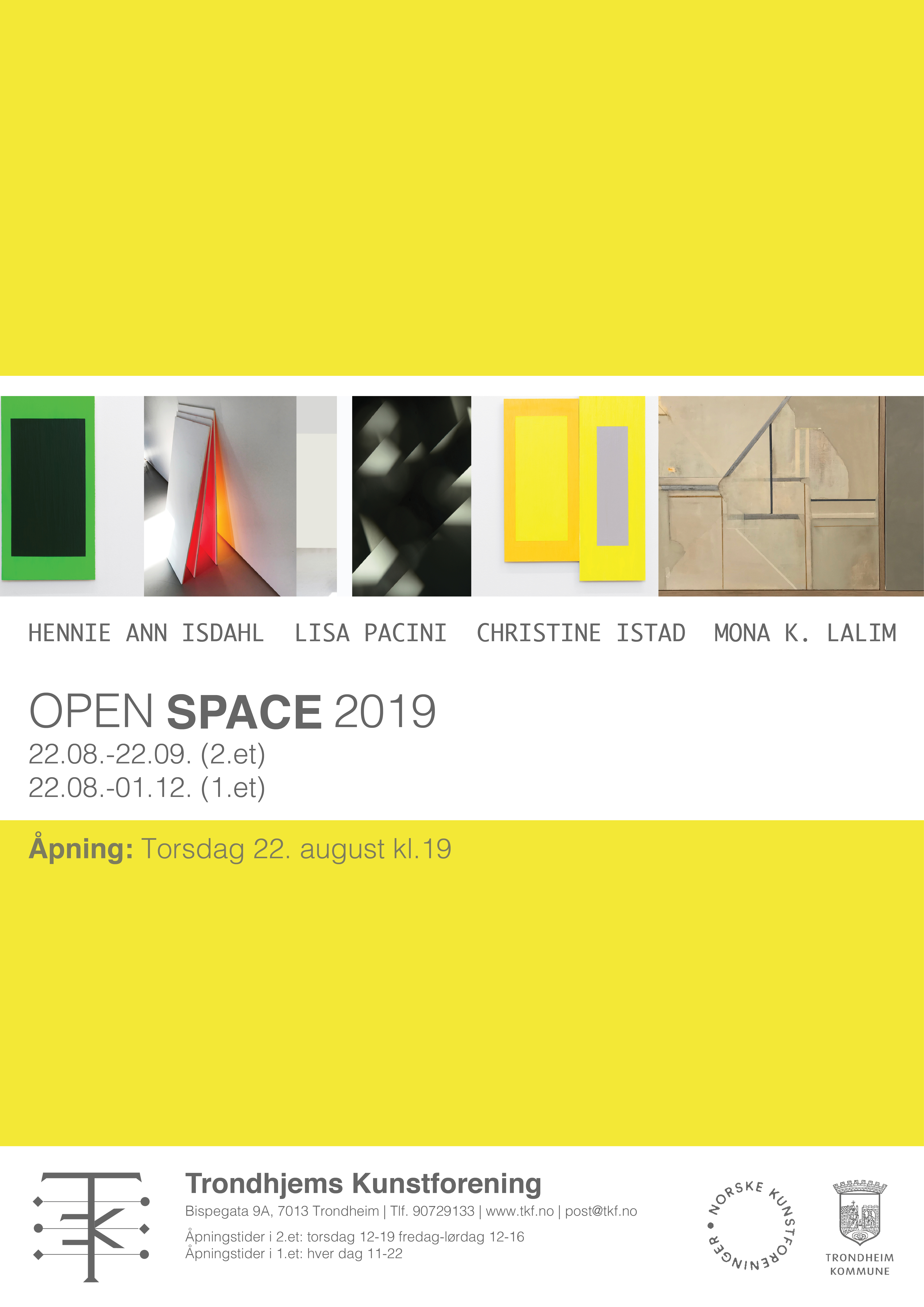 Open Space 2019 poster