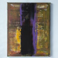 Akryl på lerret, 22x27 cm, 5000 kr