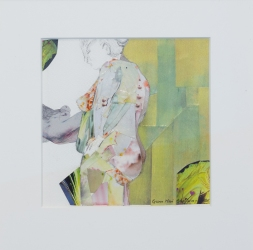 Nipples, collage, 30x28cm, 2600 kr