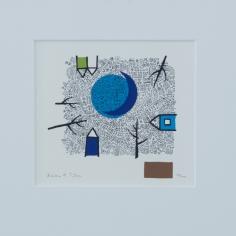 Barbro M. Tiller, silketrykk/serigrafi, 42x32 cm, 1600 kr