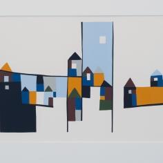 Barbro M. Tiller, silketrykk/serigrafi, 69x46cm inkl. ramme. 3000 kr